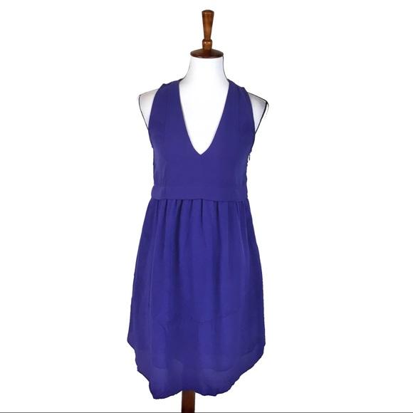 Deep Plunge V-Neck Dress